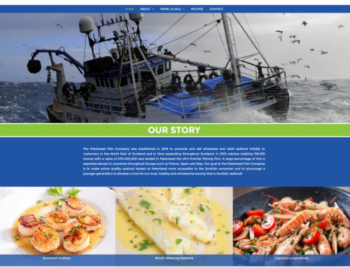 Peterhead Fish Company website now live!